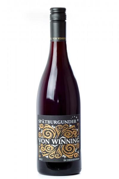Spätburgunder Qualitätswein, Weingut von Winning, Pfalz