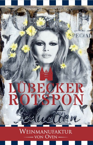 Magnumflasche Lübecker Rotspon Red Edition 2017, Devin Miles Limited Edition Weinmanufaktur von Oven