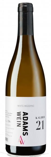 Weißweincuvée Kaliber 21 White Wedding, Adams Wein