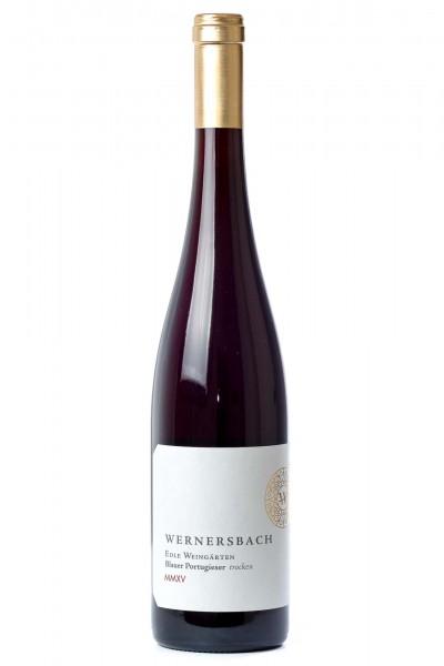 Hesslocher Edle Weingärten Blauer Portugieser trocken 2015, Weingut Wernersbach