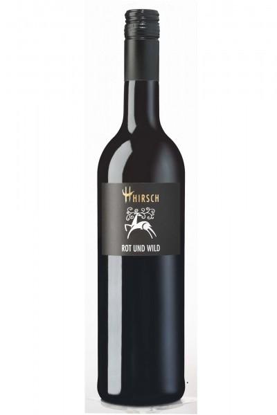 Rot und Wild, Rotweincuvée Qualitätswein, Privatkellerei Hirsch