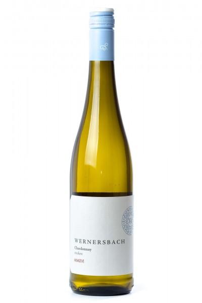 Chardonnay trocken 2016, Weingut Wernersbach