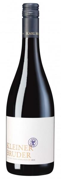 Kleiner Bruder Rotweincuvée Qualitätswein, Weingut Karl May