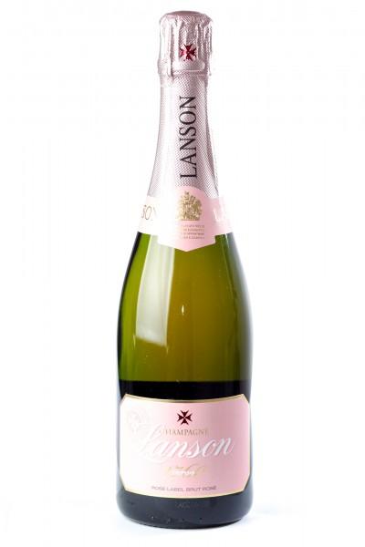Champagne Lanson Rose Label, Brut rosé