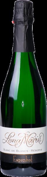 Blanc de Blanc Réserve brut Jahrgangssekt, Weingut Espenhof