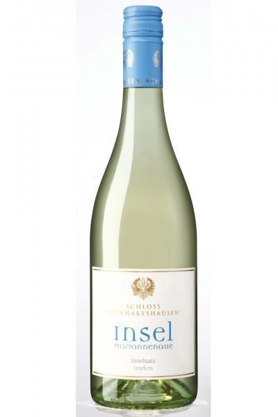 Alter Inselsatz, Weißweincuvée Qualitätswein, Schloss Reinhartshausen