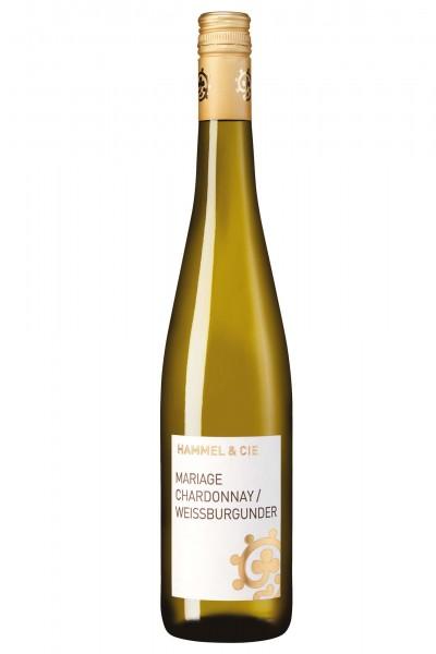 Cuvée Mariage, Chardonnay-Weißburgunder Qualitätswein, Weingut Hammel