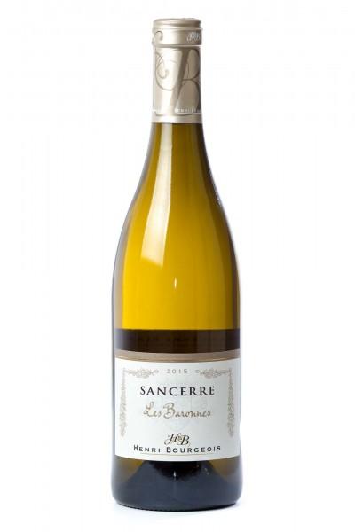 """2015er Sancerre """"Les Baronnes"""", trocken, 13% vol., H.Bourgeois, 750 ml"""